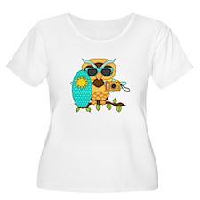Surfing Boy Owl T-Shirt