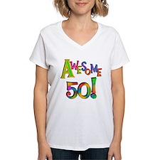 Awesome 50 Birthday Shirt