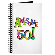 Awesome 50 Birthday Journal