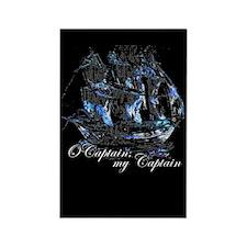 O CAPTAIN, MY CAPTAIN - Rectangle Magnet