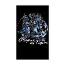 O CAPTAIN, MY CAPTAIN - Rectangle Decal