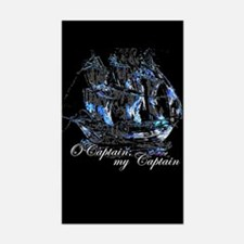 O CAPTAIN, MY CAPTAIN - Rectangle Decal