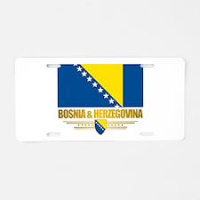 BosniaHerzegovina (Flag 10)2.png Aluminum License