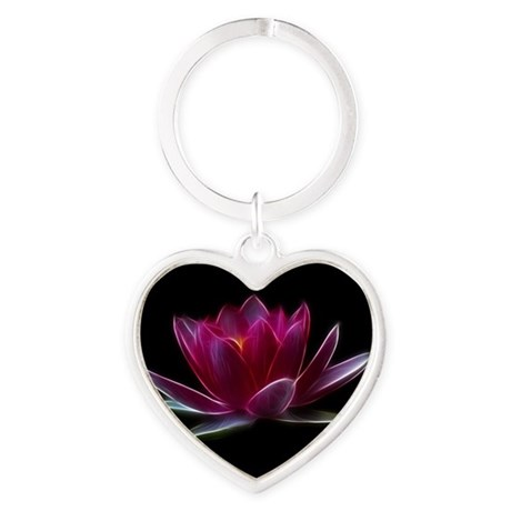 Lotus Flower Water Plant Keychains
