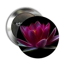 """Lotus Flower Water Plant 2.25"""" Button (10 pack)"""