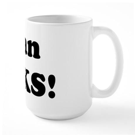 Dylan Rocks! Large Mug