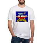 Air King Asparagus Fitted T-Shirt
