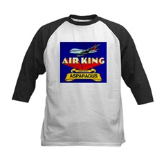 Air King Asparagus Kids Baseball Jersey