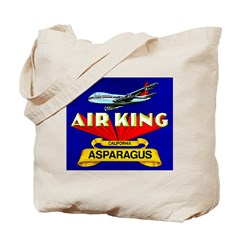 Air King Asparagus Tote Bag