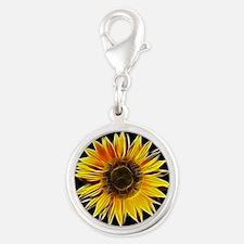Fractal Sunflower Charms