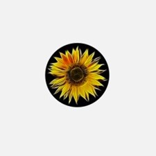Fractal Sunflower Mini Button (100 pack)