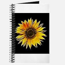 Fractal Sunflower Journal