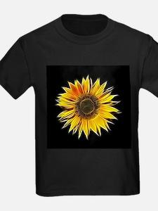 Fractal Sunflower T-Shirt