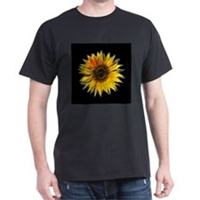 Fractal Sunflower T-Shirt