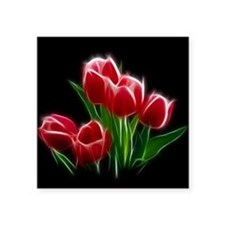 Tulip Flower Red Plant Sticker