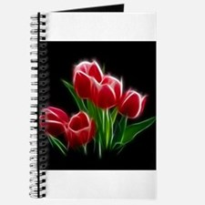 Tulip Flower Red Plant Journal