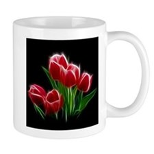 Tulip Flower Red Plant Mugs