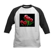 Tulip Flower Red Plant Baseball Jersey