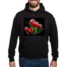 Tulip Flower Red Plant Hoodie