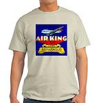 Air King Asparagus Ash Grey T-Shirt