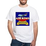 Air King Asparagus White T-Shirt