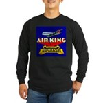 Air King Asparagus Long Sleeve Dark T-Shirt