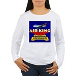 Air King Asparagus Women's Long Sleeve T-Shirt