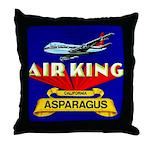 Air King Asparagus Throw Pillow