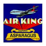 Air King Asparagus Tile Coaster