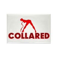 Collared BDSM Rectangle Magnet