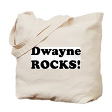 Dwayne Rocks! Tote Bag