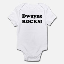 Dwayne Rocks! Infant Bodysuit