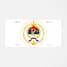 Srpska COA.png Aluminum License Plate