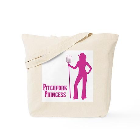 Pitchfork Princess, Sexy Cowgirl Tote Bag