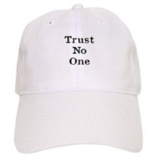 Trust No One (Black) Baseball Baseball Cap