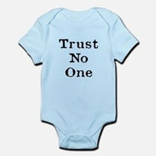 Trust No One (Black) Body Suit