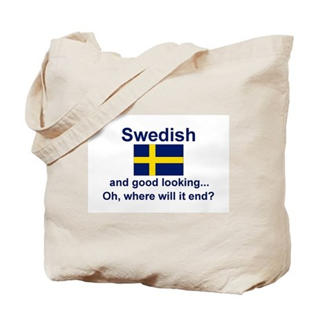 Good Looking Swede Tote Bag