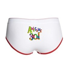 Awesome 30 Birthday Women's Boy Brief