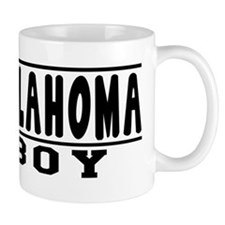 Oklahoma Boy Designs Mug