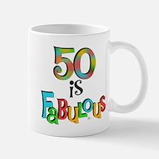 50 is Fabulous Mug