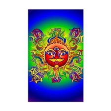 Lynn Rainbow Chakra Rectangle Decal