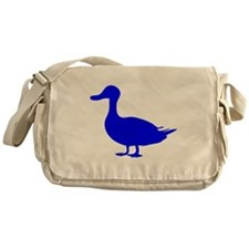 Blue Duck Silhouette Messenger Bag