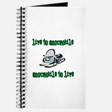 Live to Snowmobile Journal