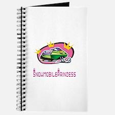 """SnowmobileChick """"Princess"""" Journal"""