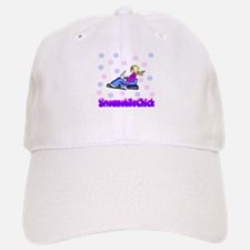SnowmobileChick Logo Hat