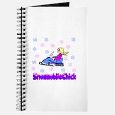 SnowmobileChick Logo Journal