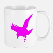 Pink Eagle Silhouette Mugs