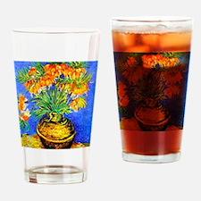 van gogh frittilaries Drinking Glass