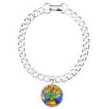 van gogh frittilaries Charm Bracelet, One Charm