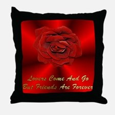 Friends Are Forever Throw Pillow